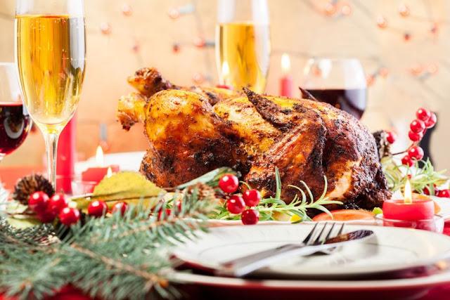 Maridaje de vino con pavo navideño