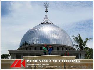 Jasa Kontraktor Pembuatan Kubah Masjid Pati