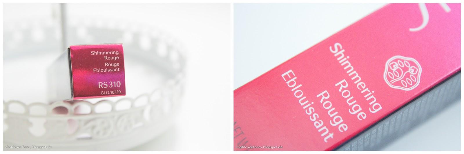 Shiseido Shimmering Rouge Lippenstift RS 310