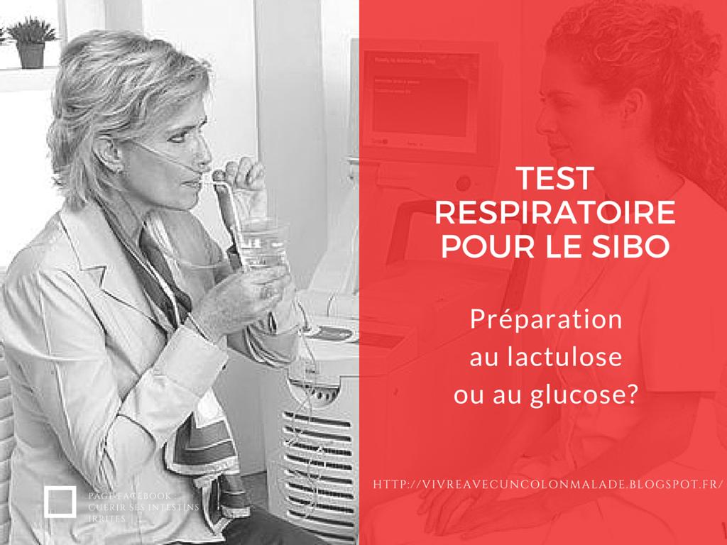 test du SIBO avec du lactulose ou du glucose?