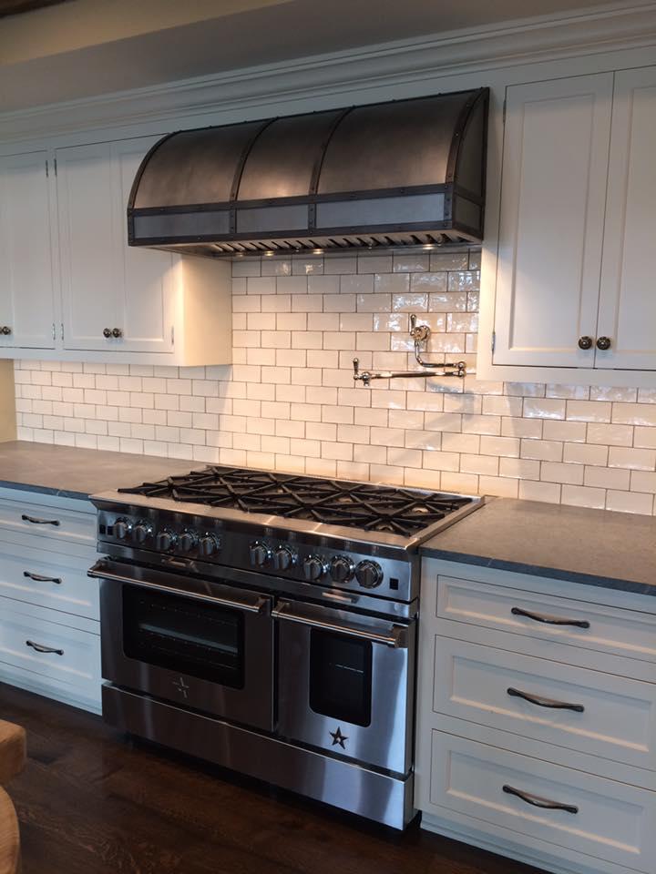 THE METAL SHOPPE | Custom Metal Kitchen Hoods | Countertops