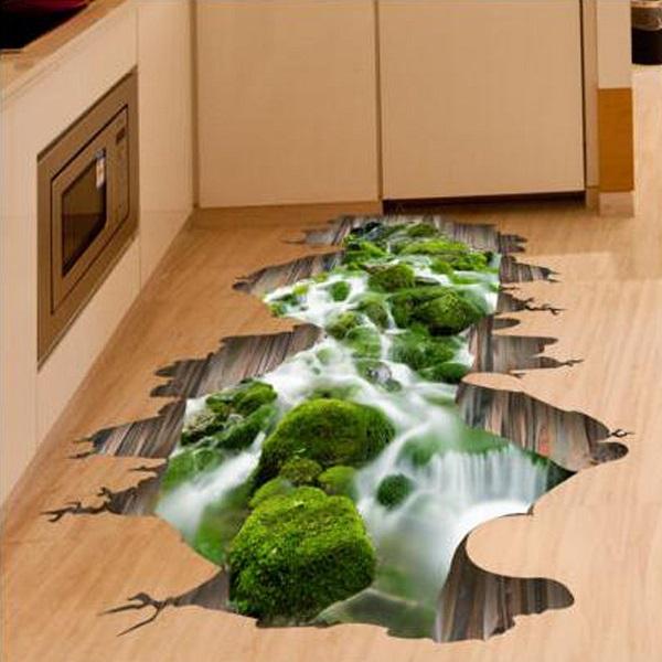 3d vinyl floor murals