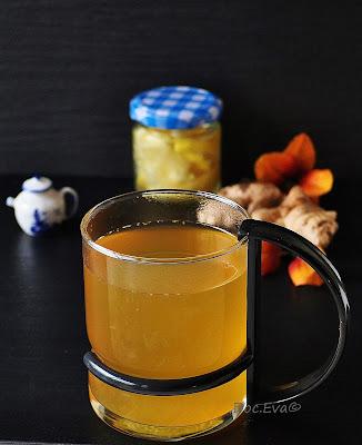 Tee mit Ingwer