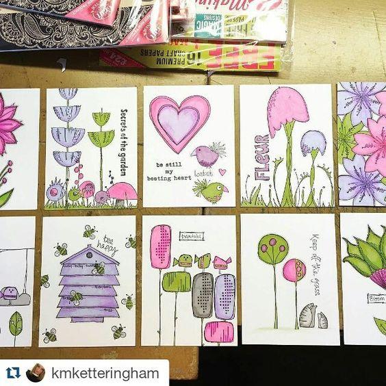 Kelly Ketteringham PaperArtsy stamping