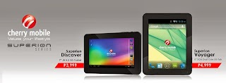 Cherry Mobile Superion series Voyager and Discover 3G tablet