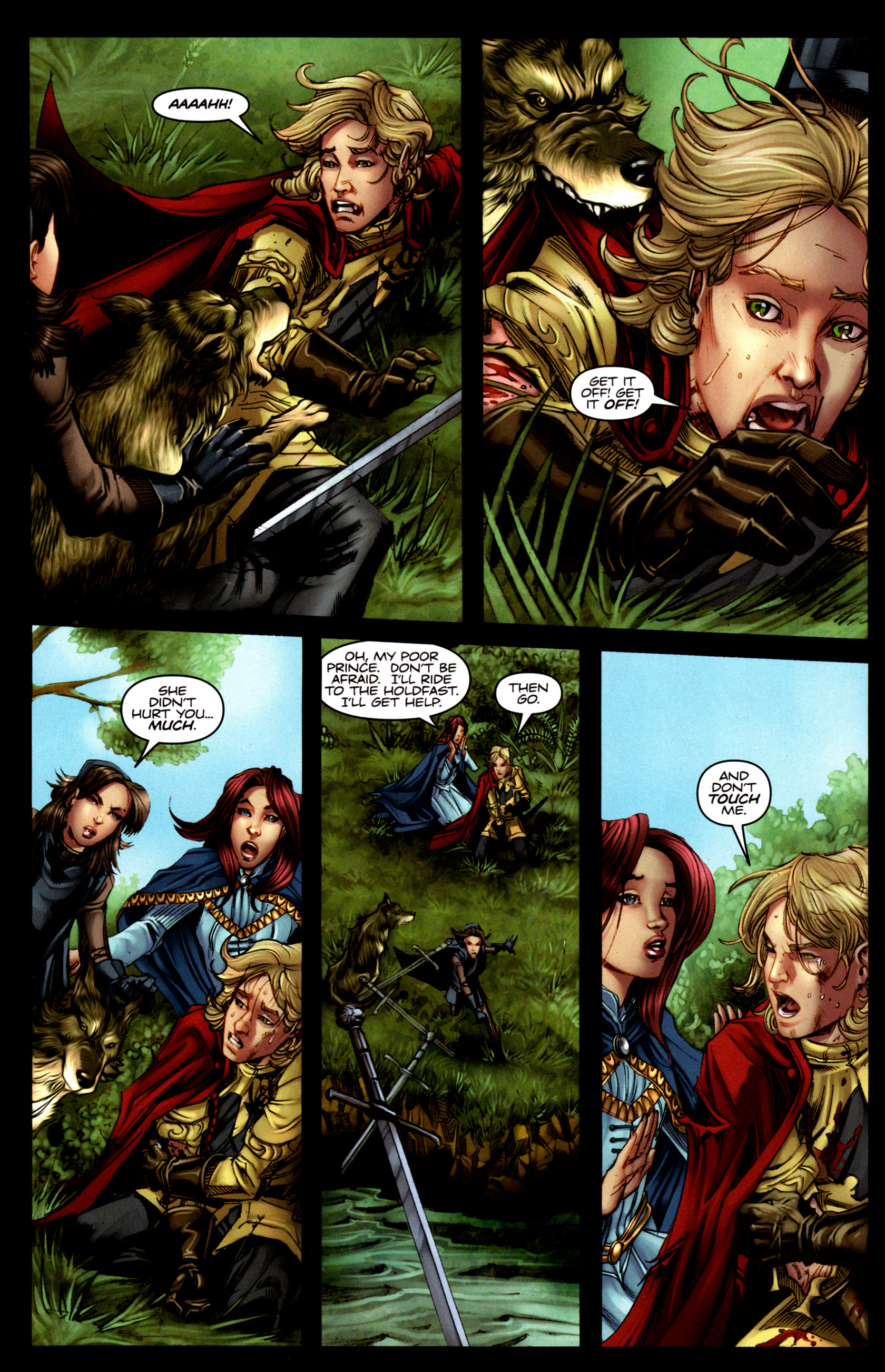 Read online A Game Of Thrones comic -  Issue #5 - 12