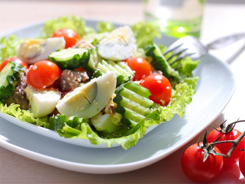 Салаты при белковой диете рецепты