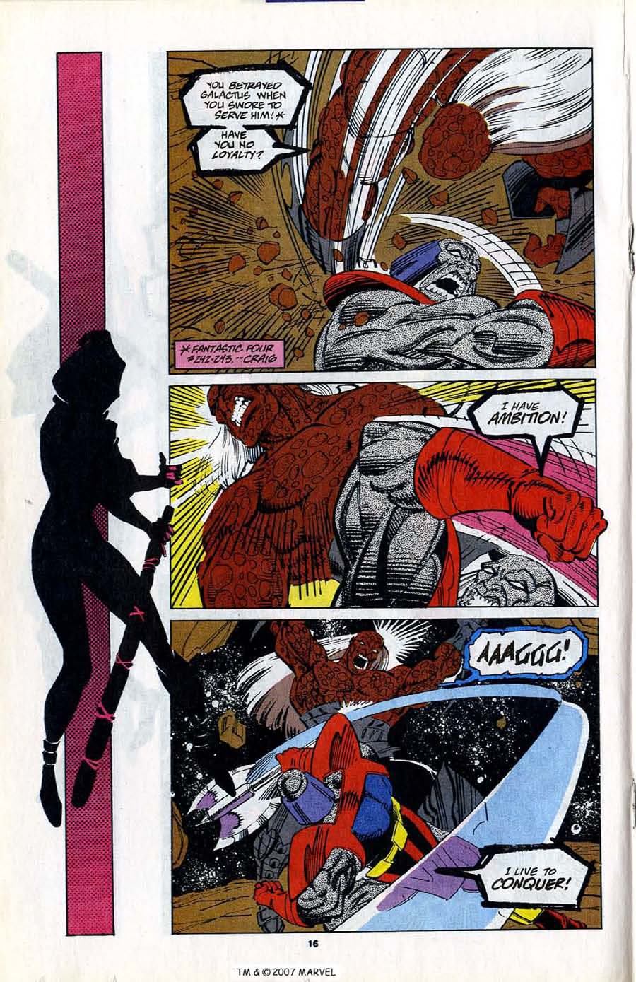 Read online Silver Surfer (1987) comic -  Issue #80 - 18