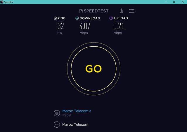 تحميل برنامج اختبار سرعة الإنترنت الكمبيوتر والأندرويد Speedtest