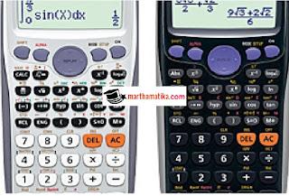 cara menghitung FPB dan KPK dengan Kalkulator