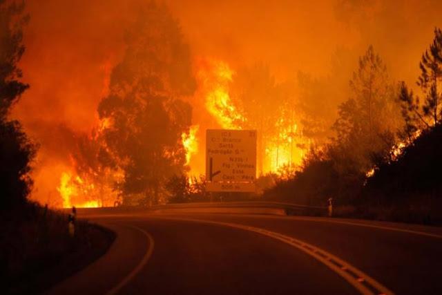Σε κόκκινο συναγερμό Πορτογαλία και Ισπανία για τον καύσωνα με θερμοκρασίες έως και 51 βαθμούς