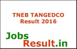TNEB TANGEDCO Result 2016
