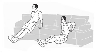 Tricep dip Exercise