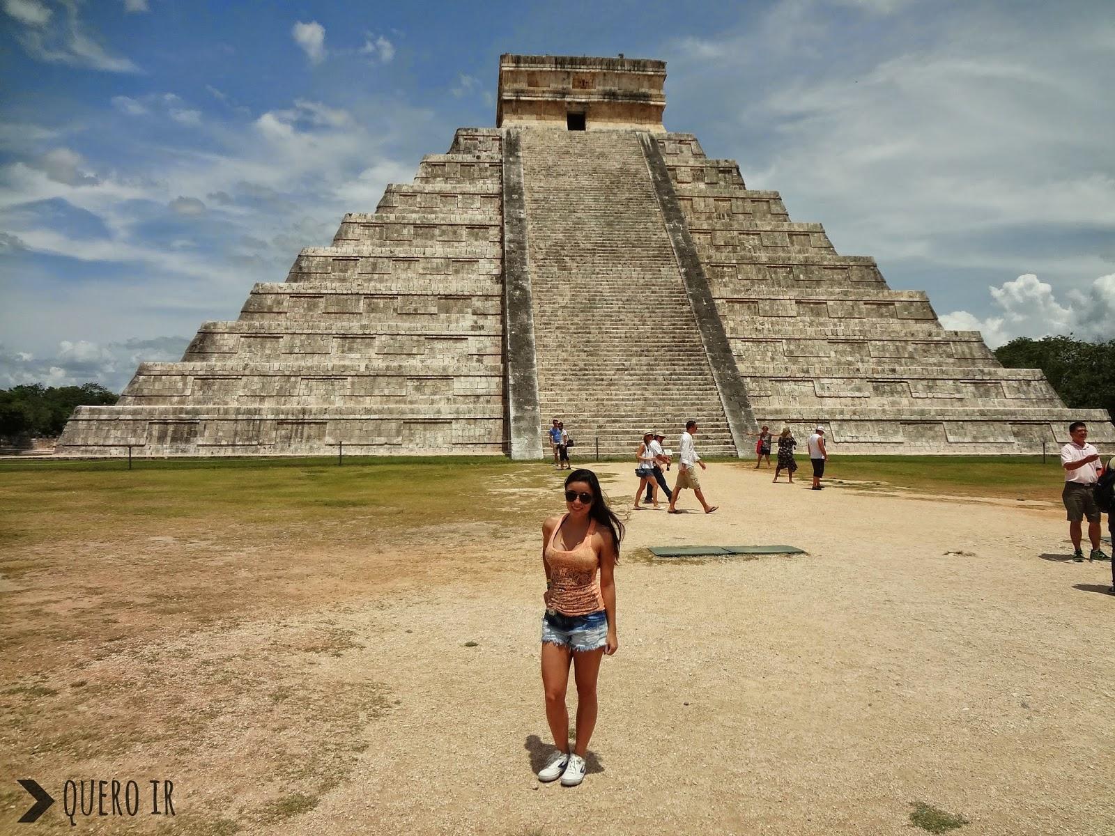 Templo Kukulkán Sete Maravilhas do Mundo