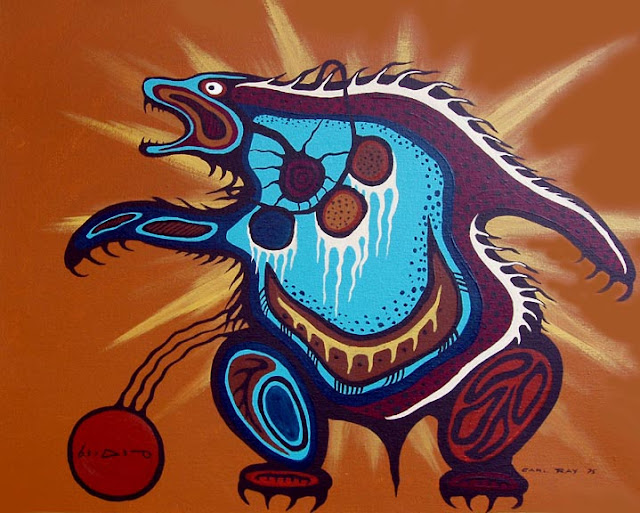 Ojibwe Bear Carl Ray