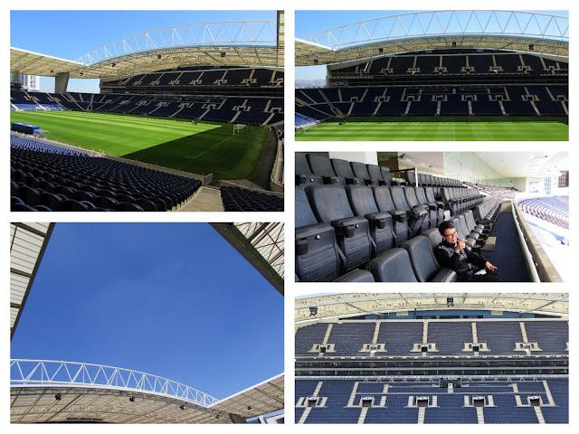 Fotos do relvado e bancada do Estádio do FC Porto