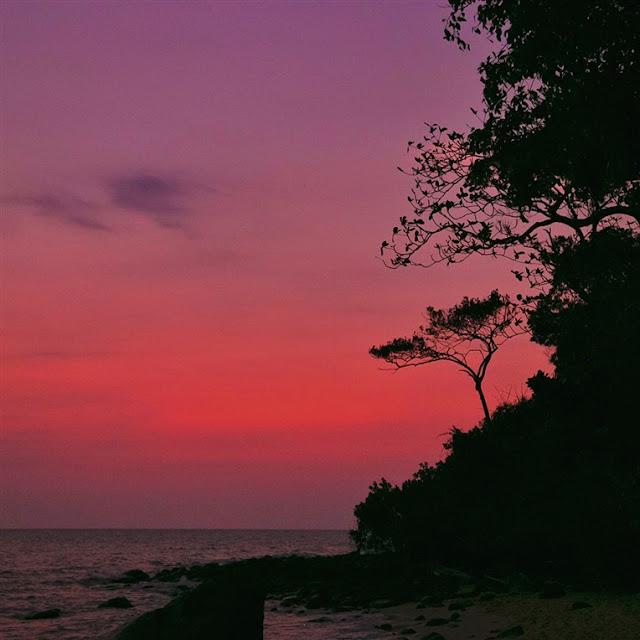 sunset cambodia Koh Rong Samloem island