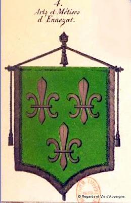 Bannière des Arts et Métiers d'Auvergne, Ennezat
