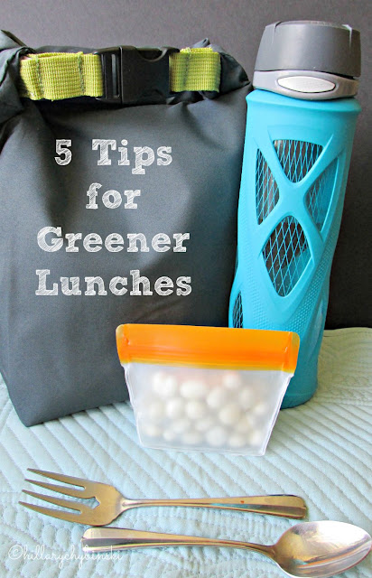 Going Green for lunch can be easy with these 5 tips and great reusable products.