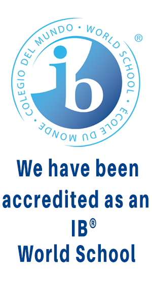 We are now an IB World School