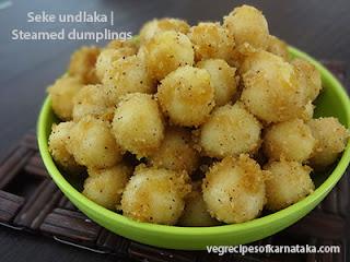 Seke undlaka recipe in Kannada