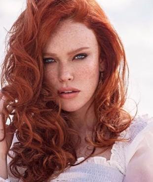 Imagenes de color de pelo rojo