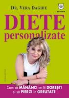 foto cartea dieta personalizata doctorita Vera Daghie