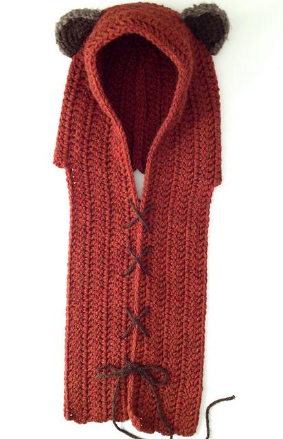 Ewok Yub Nub Scoodie Crochet Pattern