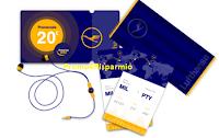 Logo Concorso ''Play The World'' e vinci gratis biglietti aerei, teli mare cuffiette e un premio sicuro per tutti