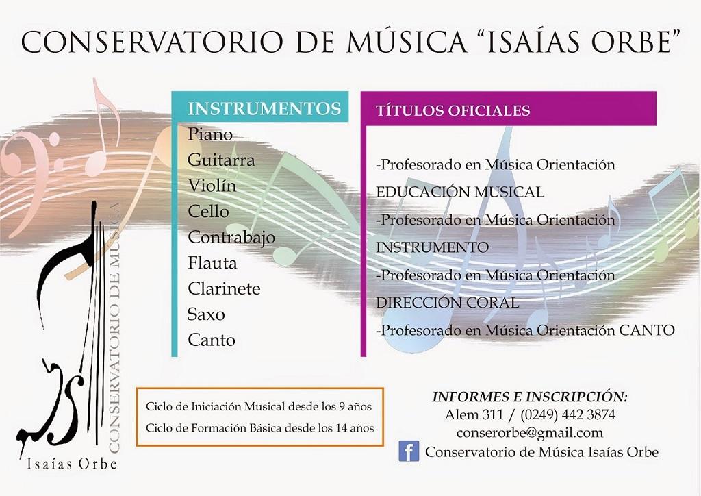 Conservatorio de m sica isa as orbe for Conservatorio de musica