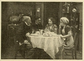 Escena película Salvada del Titanic - Dorothy Gibson 1912