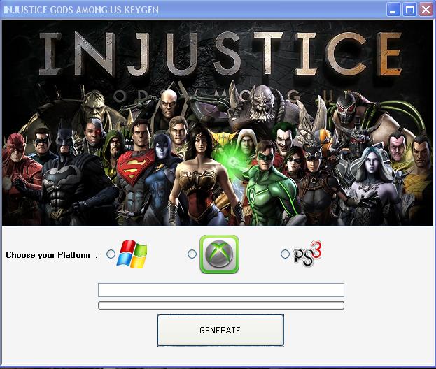 Injustice Gods Among Us Keygen [PS3XBOX 360Wii [Full ...
