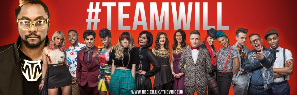 The Voice UK Series 2 Team Will
