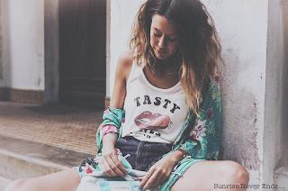 billabong,billabong women europe,ines,mode,photoshooting,ivahona,sac banane,kimono,gyspy,hippie chic,bohème,boho