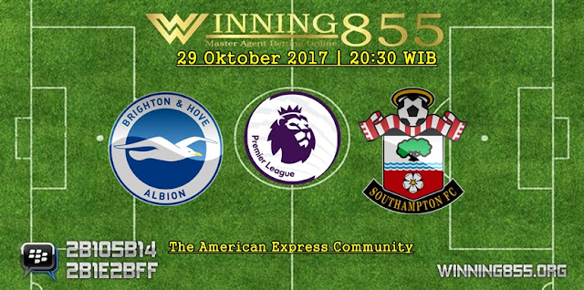 Prediksi Akurat Brighton vs Southampton | 29 Oktober 2017