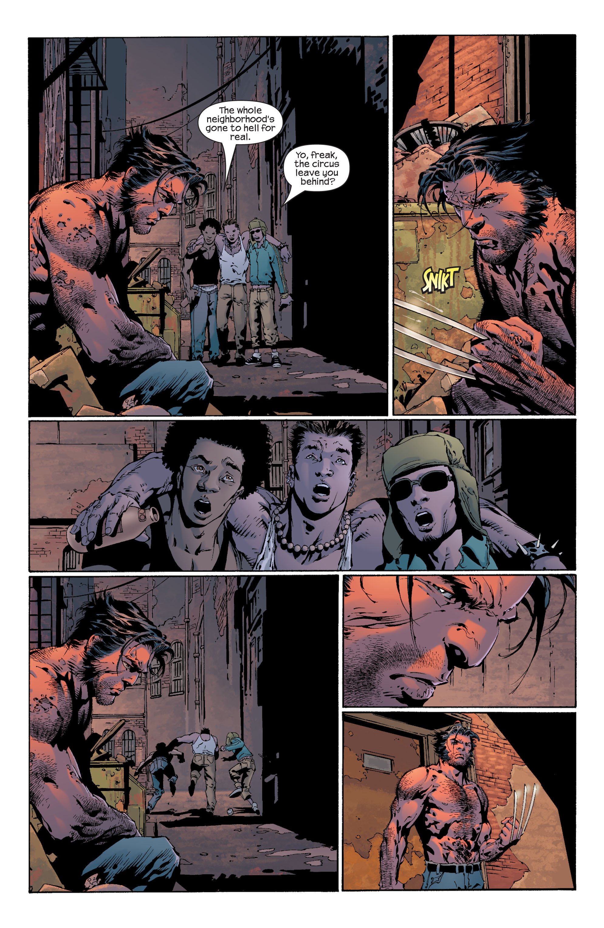 Read online Ultimate X-Men comic -  Issue #36 - 12