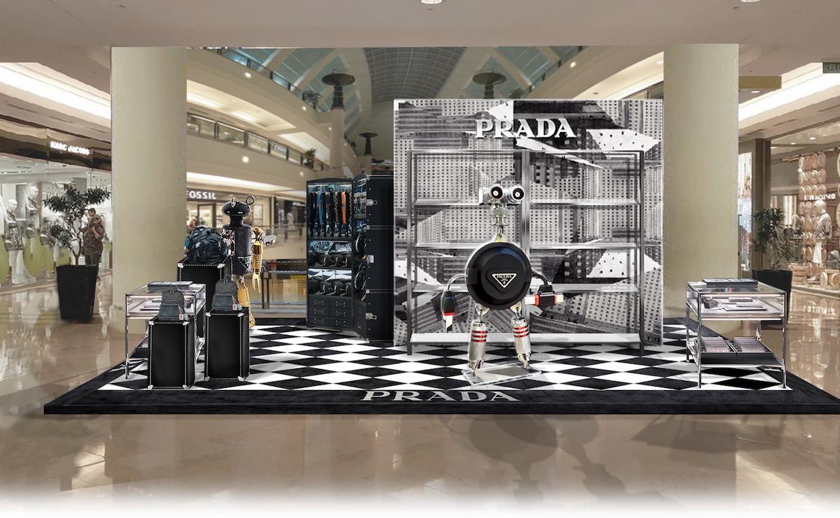 Newsflash: Prada's KLCC Pop-Up Store Featuring the Prada Robot