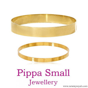Meghan Markle jewellery Pippa Small Omeen Bangle and Oshna Bangle