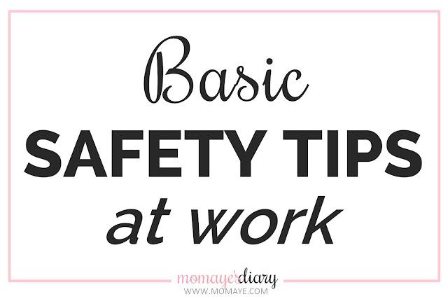 Basic Safety Tips at Work