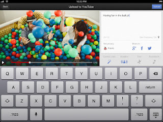 YouTube Capture for iPad and iPad mini