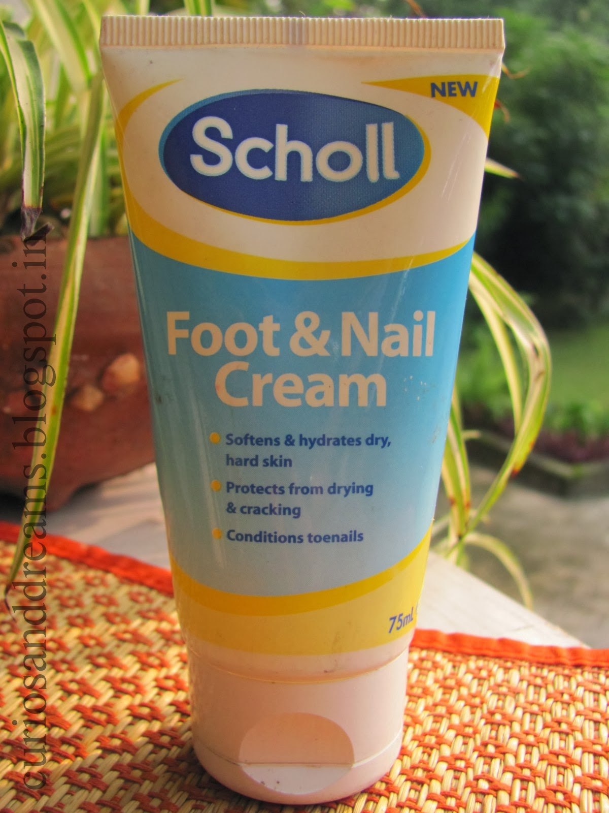 Scholl Foot and Nail Cream review