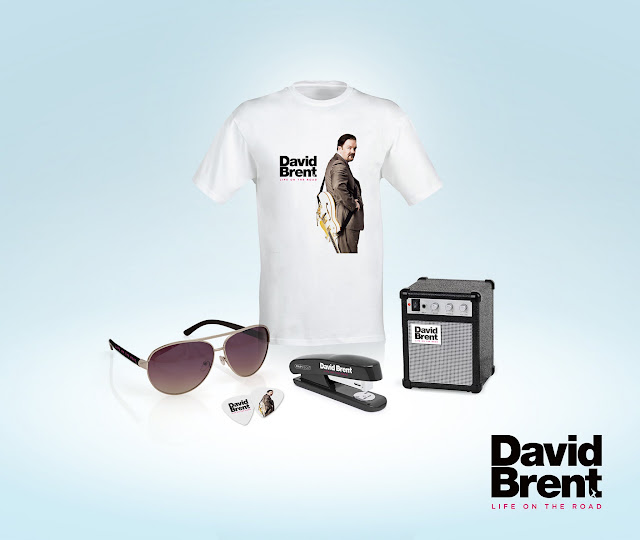 WIN! DAVID BRENT: LIFE ON THE ROAD merchandise