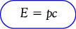 Rumus hubungan energi total dan momentum benda