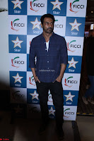 Arjun Rampal with Ajit Andhare At FICCI FRAMES 2017 004.JPG