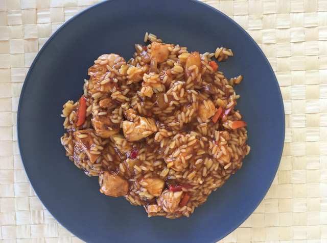 Homemad Sweet and Sour Chicken with Rice Recipe - Edit your Life Magazine