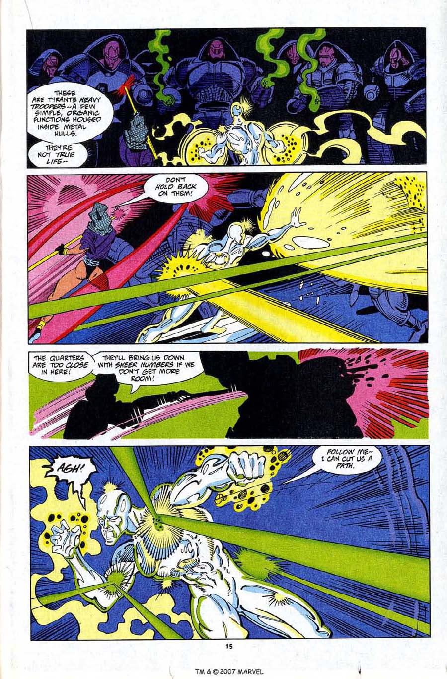 Read online Silver Surfer (1987) comic -  Issue #81 - 17