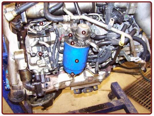 6 5 Turbo Diesel Fuel Filter Housing - Seropkoe