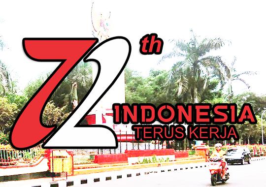 Logo HUT RI Hari Jadi Trenggalel Ke-72 Tahun 2017