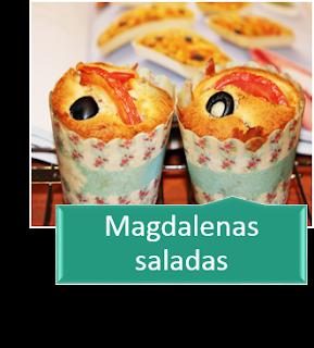 MAGDALENAS SALADAS