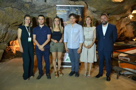 La Agència Valenciana del Turisme colabora en la adecuación y mejora de les Coves de Sant Josep